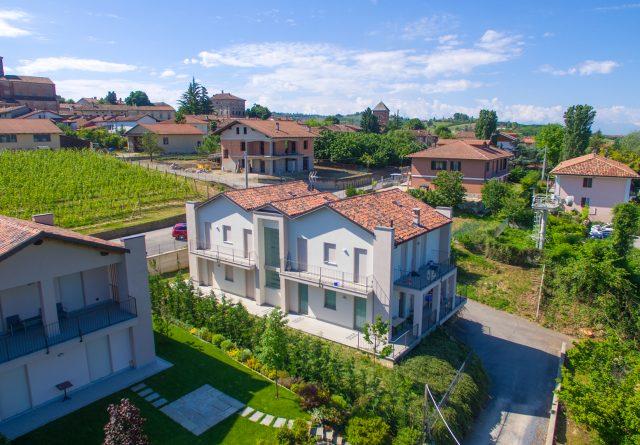 palazzina condominiale sita nel comune di Verduno